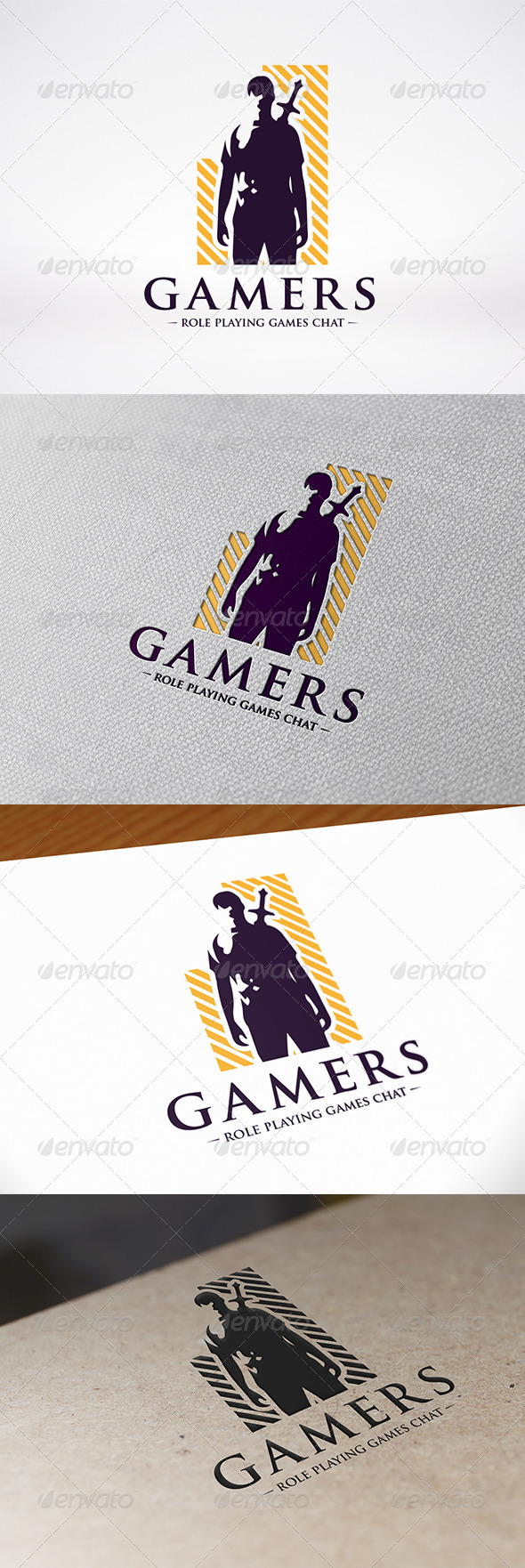 GraphicRiver Video Games Logo Template 6643770