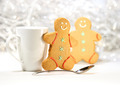 Hot holiday drink with gingerbread cookies - PhotoDune Item for Sale
