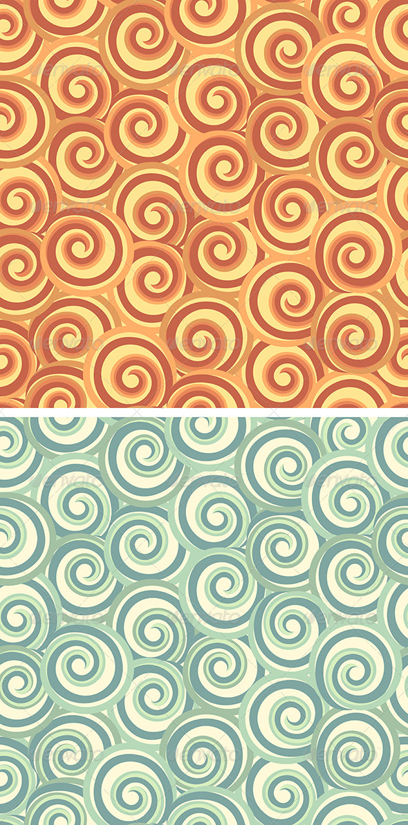 GraphicRiver Abstract Seamless Swirl Pattern 6643800