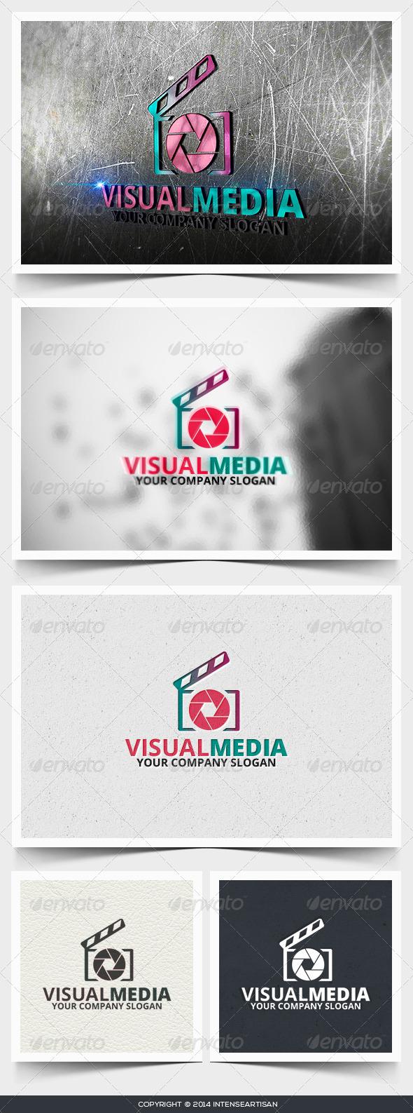 GraphicRiver Visual Media Logo Template 6643838