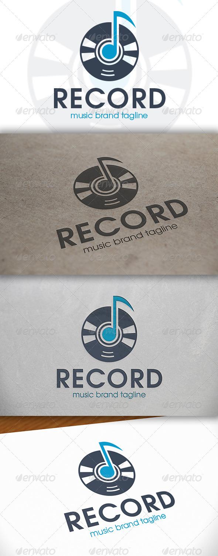 GraphicRiver Music Note Logo 6643990