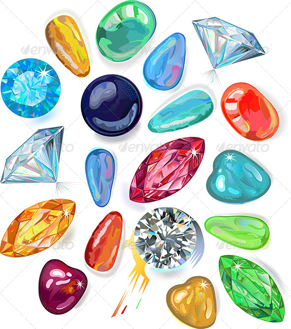 Array of Precious Stones