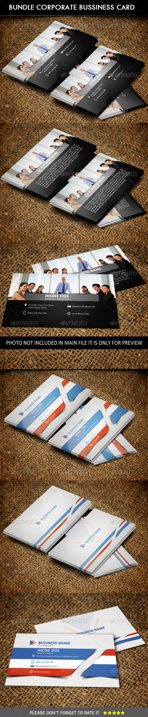 GraphicRiver Bundle # Corporate Business Card 6644527