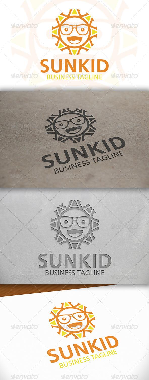GraphicRiver Geek Sun Logo 6644549