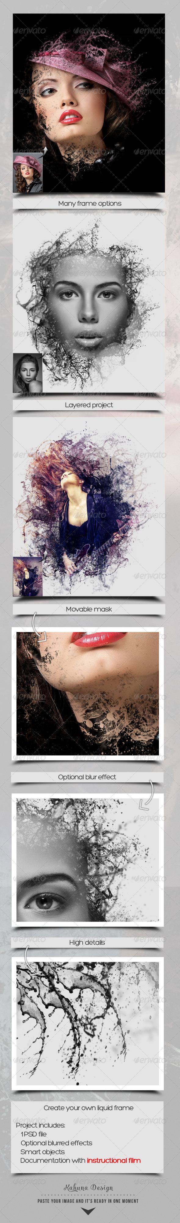 GraphicRiver Liquid Frame Maker 6644735