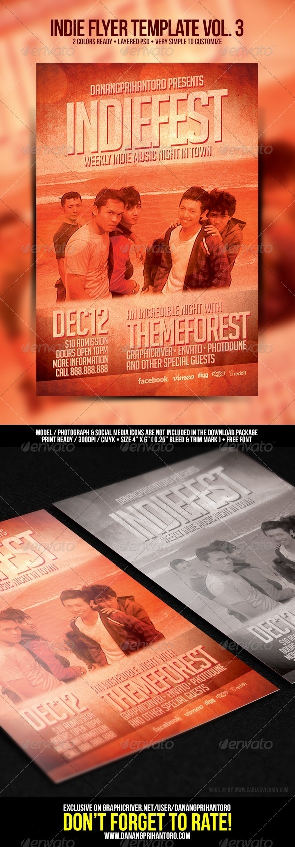 GraphicRiver Indie Flyer Template Vol 3 6635194