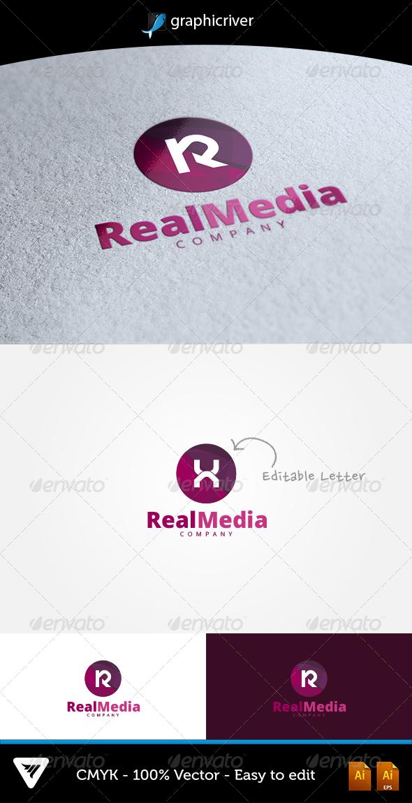GraphicRiver RealMedia Logo 6645080