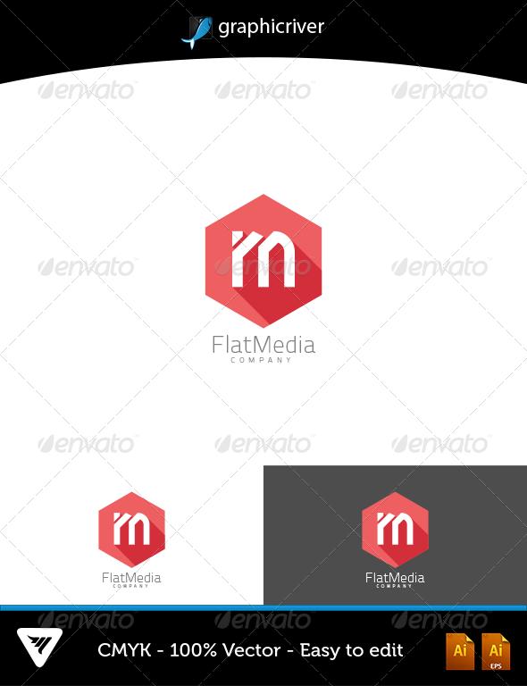 GraphicRiver FlatMedia Logo 6645265