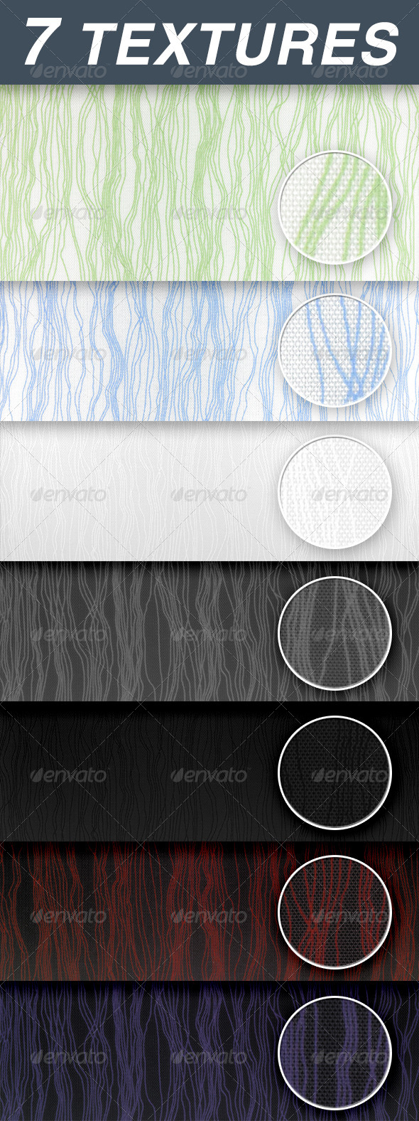 GraphicRiver Fabric with a striped pattern 6645390