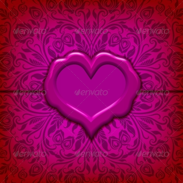 GraphicRiver Valentine's Day Vector Background 6645705