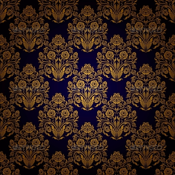 GraphicRiver Damask Seamless Floral Pattern 6645801