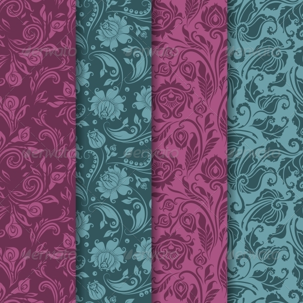 GraphicRiver Seamless Floral Pattern 6645817