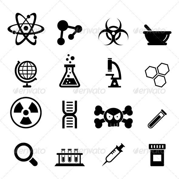 GraphicRiver Science Icon 6645859