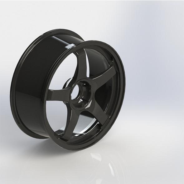 3DOcean Steel Rim 6646099
