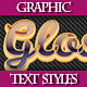 Set of Original Text Graphic Styles for Design - GraphicRiver Item for Sale