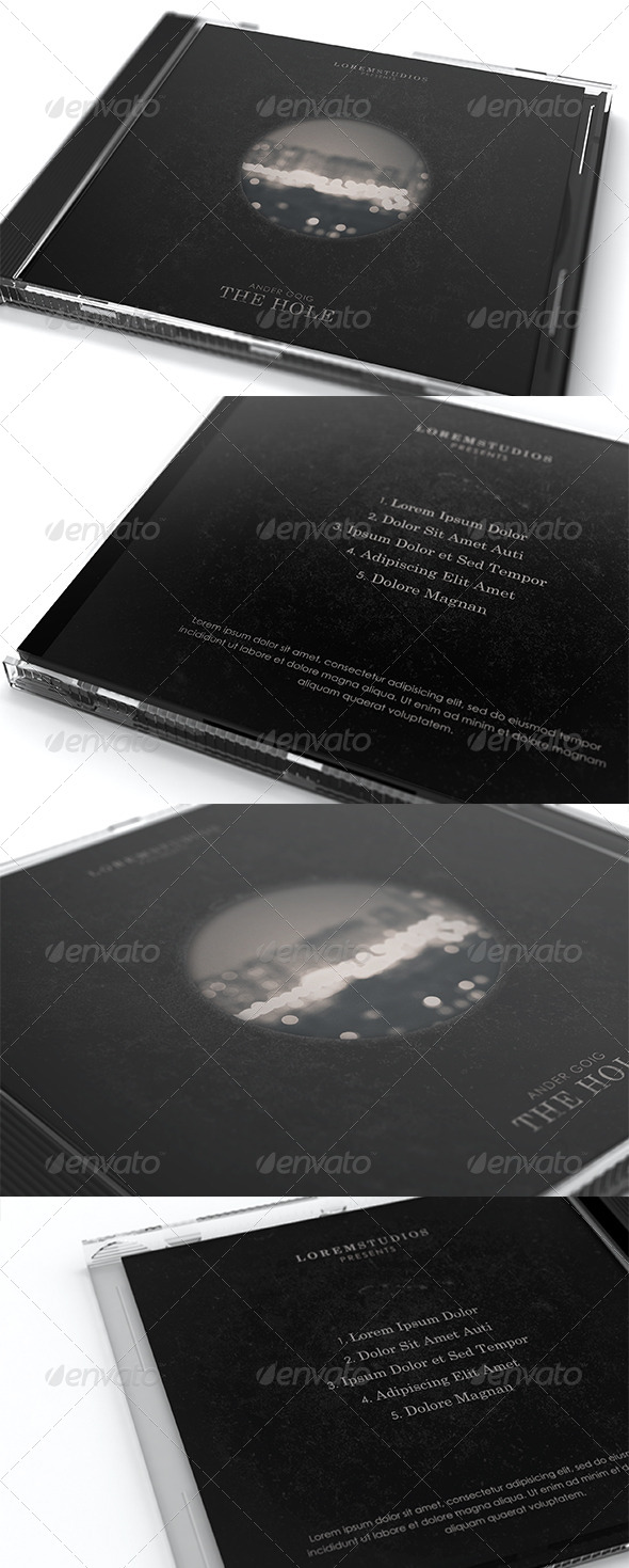 GraphicRiver The Hole CD Cover Artwork Template 6646710