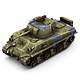 Military Modern War Heavy Tank (Blue)