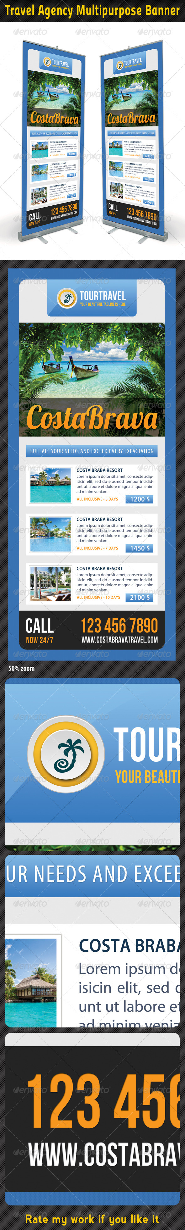 GraphicRiver Travel Agency Banner Template 05 6636356