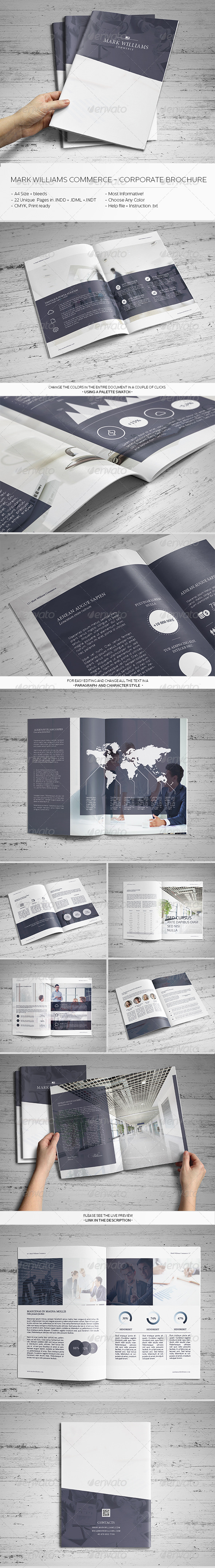 GraphicRiver Mark Williams Commerce Corporate Brochure 6646919