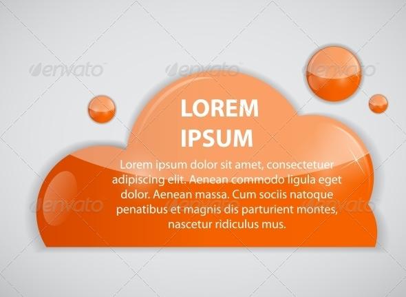 GraphicRiver Speech Bubble Cloud 6647009