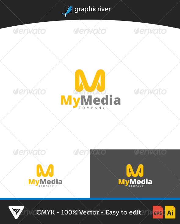 GraphicRiver Mymedia Logo 6647080