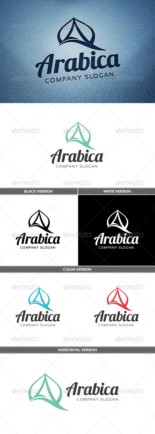GraphicRiver Arabica Logo 6647293