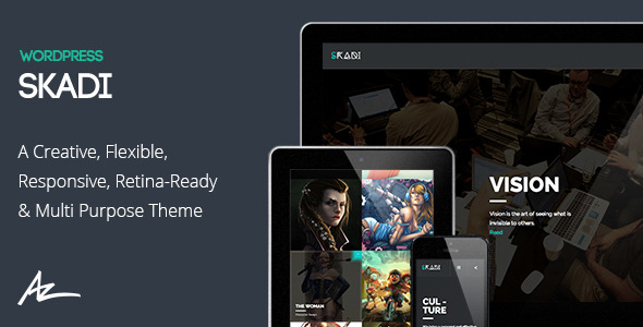 Skadi - Creative & Retina Multi-Purpose Theme