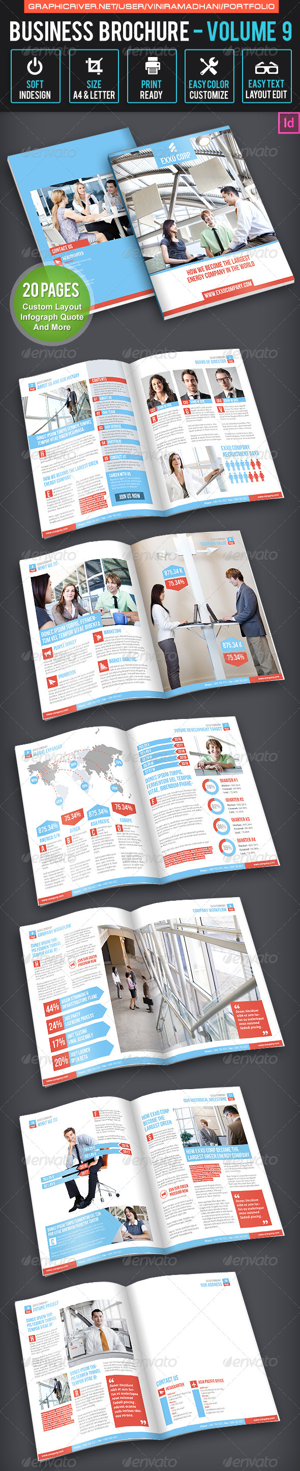 GraphicRiver Business Brochure Volume 9 6648324