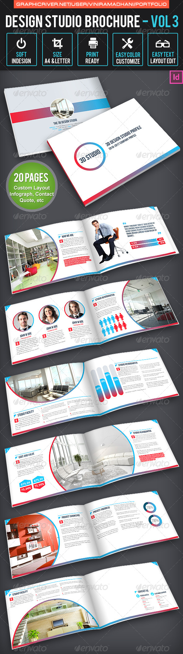 GraphicRiver Design Studio Brochure Volume 3 6648328
