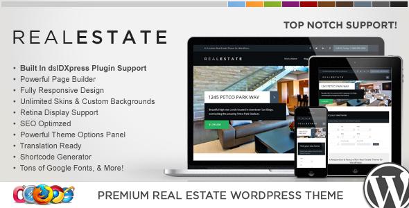ThemeForest WP Pro Real Estate 6 Responsive WordPress Theme 6648339