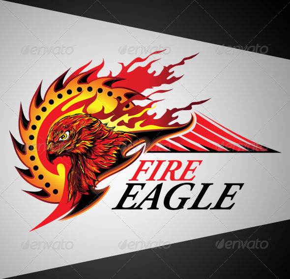 GraphicRiver Fire Eagle Logo 6648406