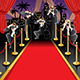 Red Carpet and Paparazzi Background - GraphicRiver Item for Sale