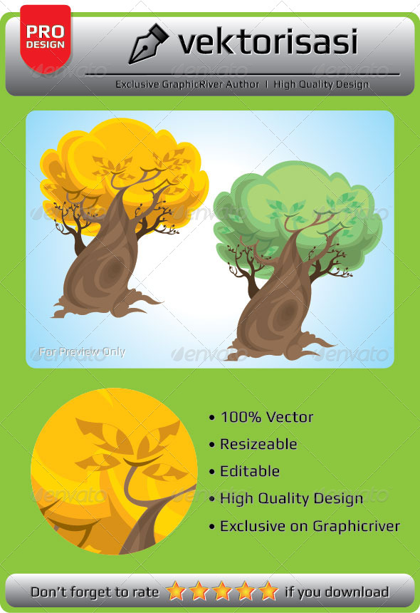 GraphicRiver Tree 6648725