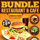 Restaurant & Cafe Bundle - GraphicRiver Item for Sale