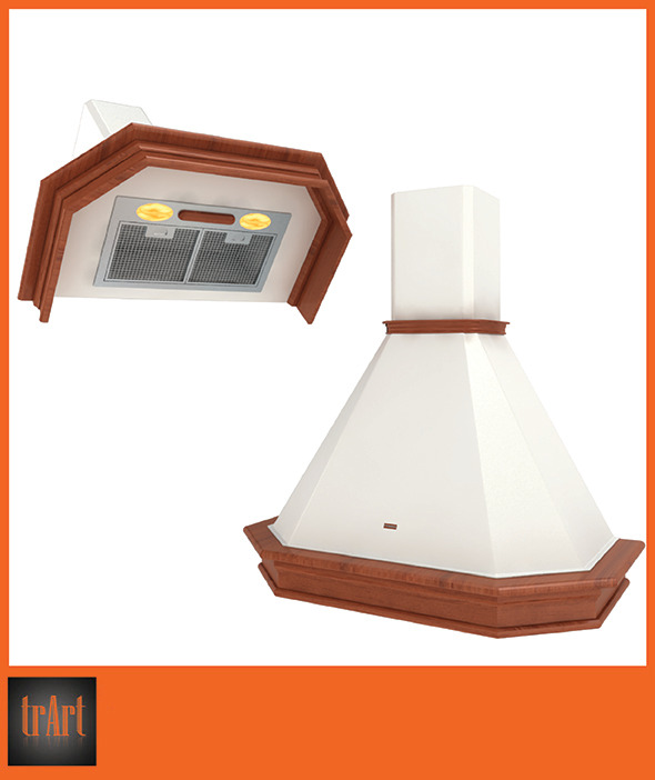 Kitchen Hood - 3DOcean Item for Sale