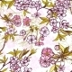Seamless Background Pattern with Blossoming Sakura - GraphicRiver Item for Sale