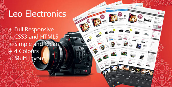 Image of Leo Electronics Prestashop Theme