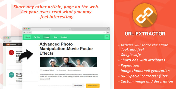 CodeCanyon URL Extractor for Wordpress 6651664