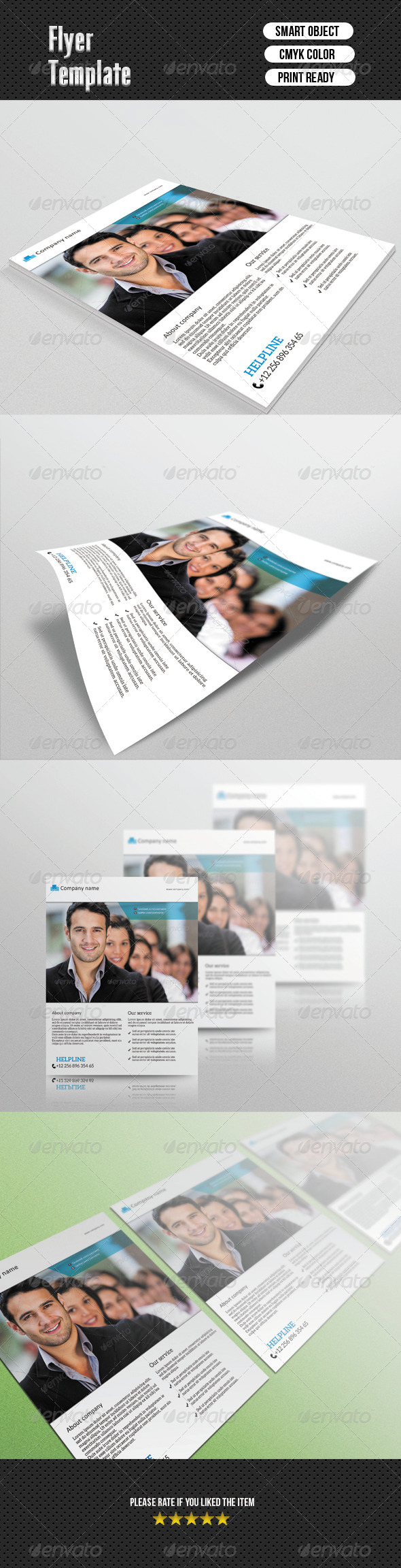 GraphicRiver Business Flyer 6651773