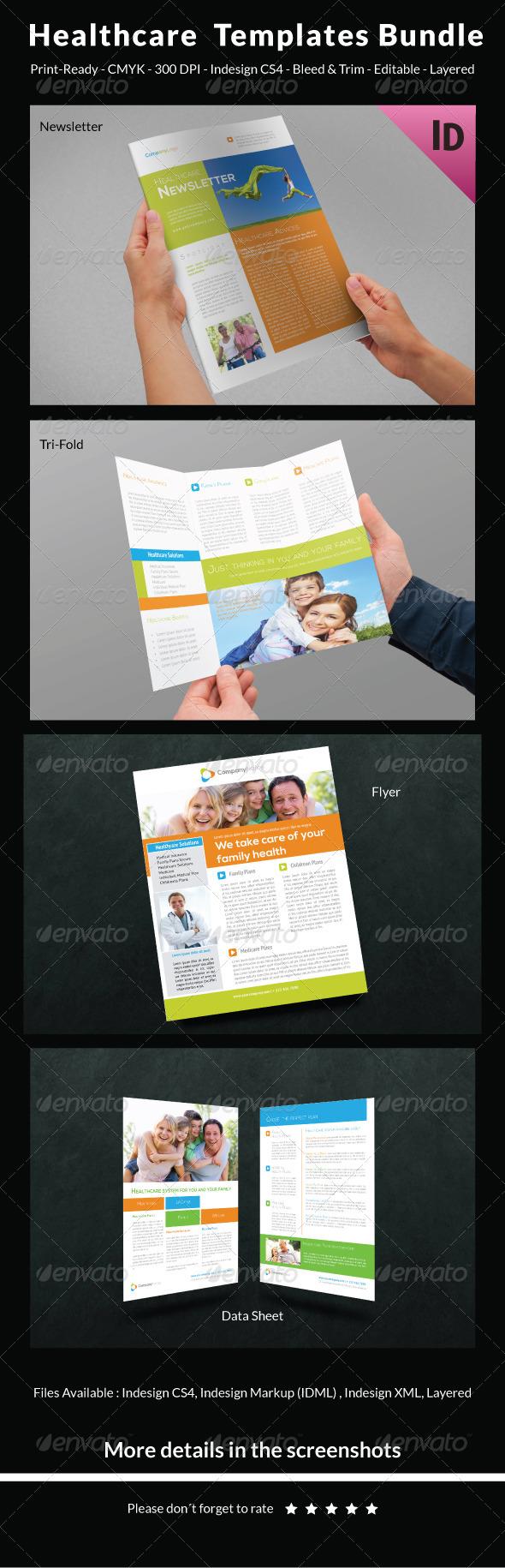 GraphicRiver Healthcare Templates Bundle 6624416