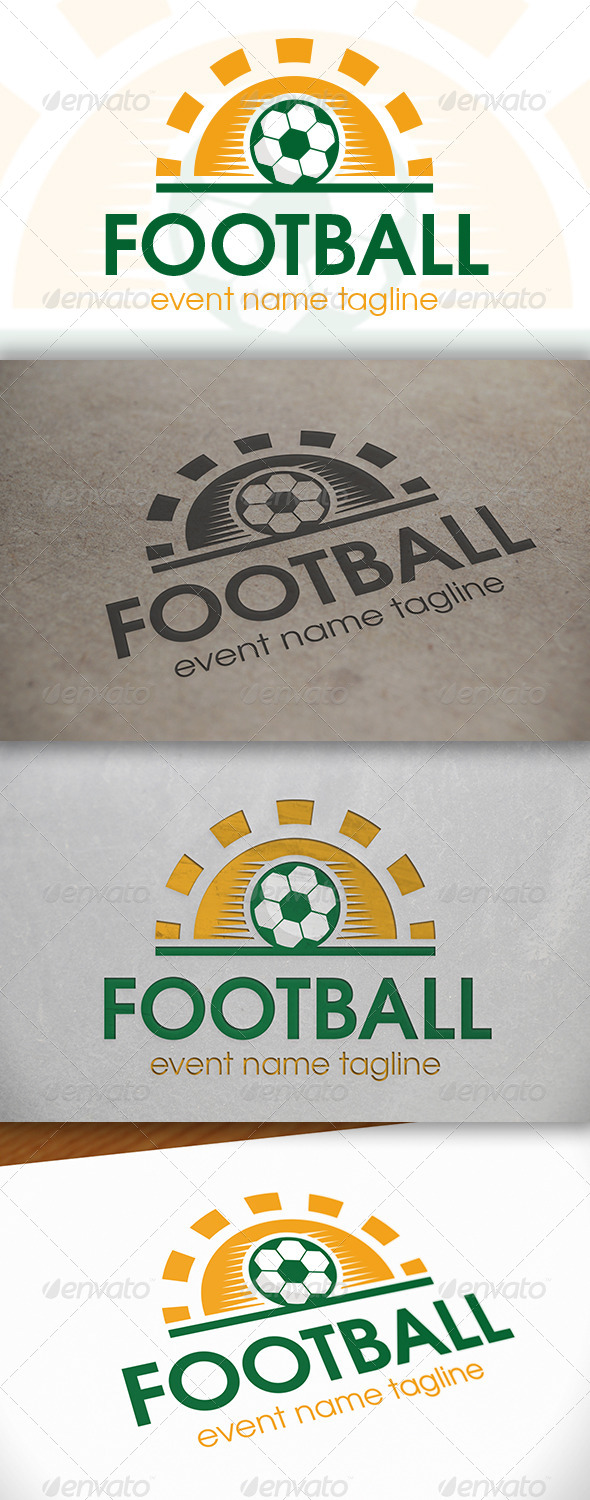 GraphicRiver Football Day Logo 6651820