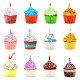 Cupcakes Vector Illustration Collection Set - GraphicRiver Item for Sale