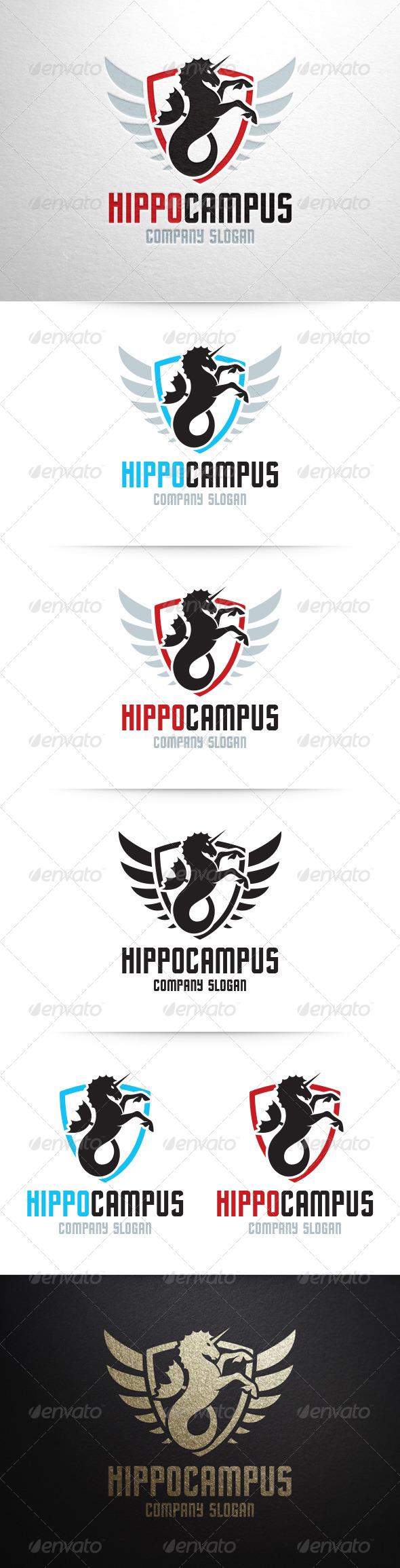 GraphicRiver Hippocampus Logo Template 6651980