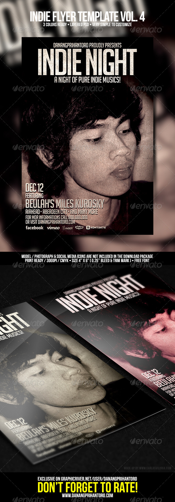 GraphicRiver Indie Flyer Template Vol 4 6652605