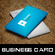 Flat Corporate Business Card - GraphicRiver Item for Sale