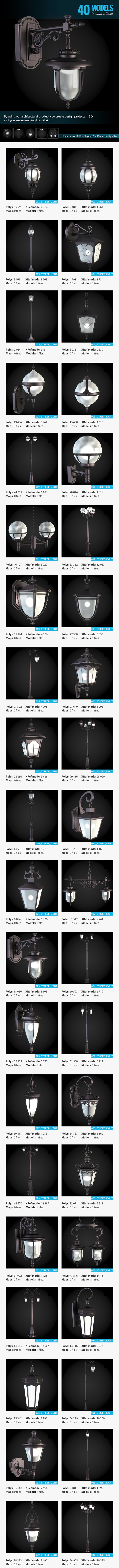 3DOcean Collection of Street Lights 6652802