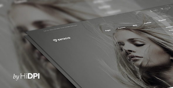 ThemeForest Entacio PSD Template 6652999