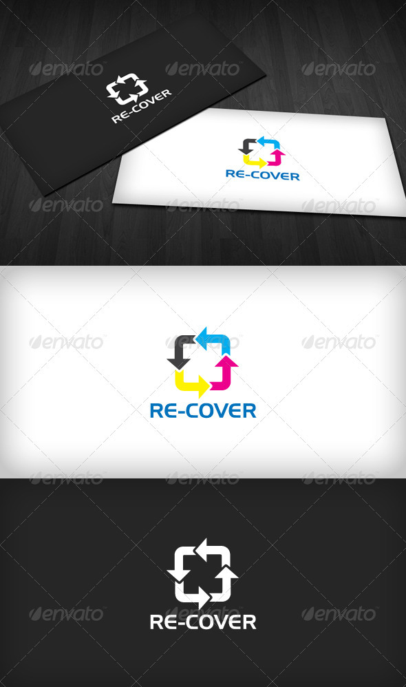 Re-Cover Logo Template - Symbols Logo Templates