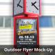 Outdoor Flyer Mock-Up - GraphicRiver Item for Sale