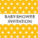 Baby-Shower Invitation - GraphicRiver Item for Sale